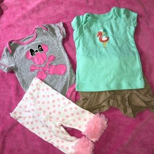 💜SALE💜 Baby girls 0-3 months Outfits 🔥20%off🔥